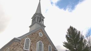 L'église située dans le secteur de Laterrière, à Saguenay.