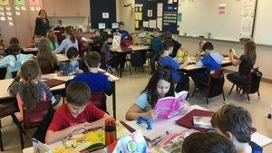 Des élèves en pleine période d'apprentissage