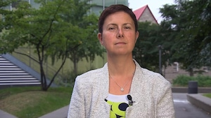 Élisabeth Vallet, chercheuse à l'observatoire sur les États-Unis de la chaire Raoul-Dandurand de l'UQAM