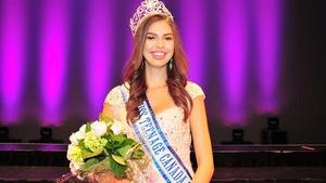 Une jeune crie est couronnée Miss Teenage Canada.