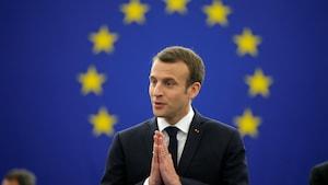 Macron appelle l'Europe à résister aux tentations autoritaires