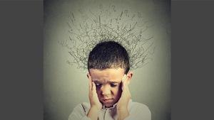 Un enfant stressé.