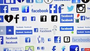 Divers logos de Facebook