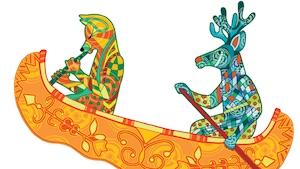 Festival Manitou: illustration de Kristine Sioui Wawanolath