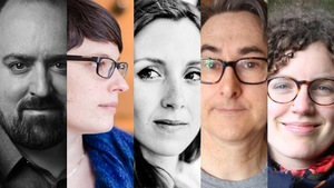 Philippe Arseneault, Geneviève Boudreau, Fanie Demeule, Daniel Guilbeault et Kiev Renaud