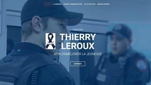 Site web de la Fondation Thierry LeRoux