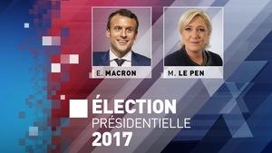 Emmanuel Macron affronte Marine Le Pen au second tour de l'élection présidentielle française