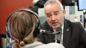 Le président-directeur général par intérim de la Société des traversiers du Québec, François Bertrand.