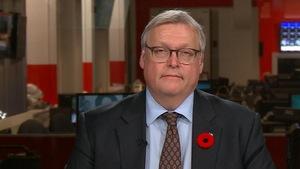 Gaétan Barrette en entrevue à Radio-Canada.