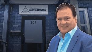 Gilles Bérubé, PDG de la Corporation Waskahegen