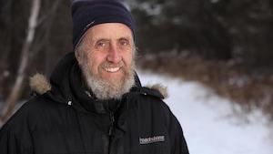 Photo de Gilles en extérieur en hiver