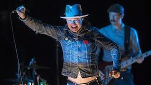 Gord Downie lors du spectacle Secret Path en octobre à Toronto