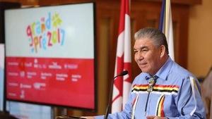 Sidney Peters, chef de la Première Nation Glooscap en Nouvelle-Écosse