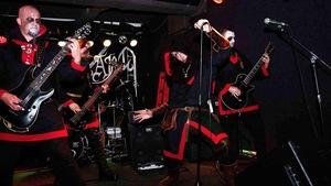 Le groupe metal polonais Graveland