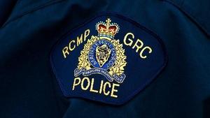 Un écusson de la Gendarmerie royale du Canada (GRC)