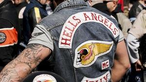 Un membre des Hells Angels