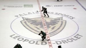 Un match de hockey entre les Foreurs de Val-d'Or et le Phoenix de Sherbrooke