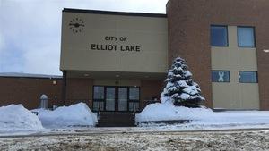L'Hôtel de ville à Elliot Lake.