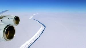 L'un des plus gros icebergs jamais vus s'est détaché du continent antarctique