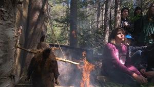 Des élèves de deux écoles secondaires de Plessisville et Princeville ont passé près d'une semaine en immersion dans la culture innue.