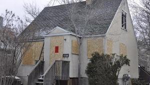 La maison qui a emporté un homme de 65 ans dans un incendie