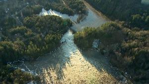 Le barrage de la Chute-Bell, à Grenville-sur-la-Rouge.