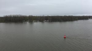 Plusieurs secteurs sont inondés en bordure du fleuve Saint-Laurent.