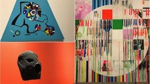 Certaines des oeuvres qu'on peut voir à l'exposition Insurgence/Resurgence au Musée des beaux-arts de Winnipeg.