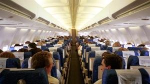 Intérieur d'un avion