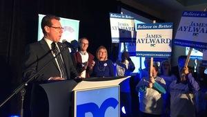Le nouveau chef du Parti progressiste-conservateur de l'Île-du-Prince-Édouard, James Aylward.