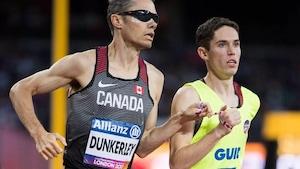 Jérémie Venne et Jason Dunkerley courent aux Championnats du monde de para-athlétisme à Londres