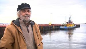 Jean-Claude Landry est capitaine de bateau de pêche à Natashquan.