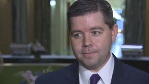 Le ministre de l'Économie de la Saskatchewan, Jeremy Harrison