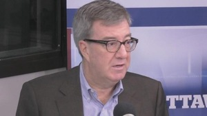 Le maire d'Ottawa, Jim Watson, à l'émission de CBC, Ottawa Morning.