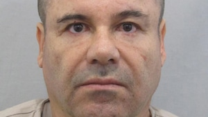 Photographie du narcotrafiquant mexicain Joaquin Guzman alias « El Chapo ».
