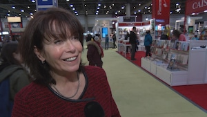 Johanne Mongeau, directrice des communications du Salon international du livre de Québec