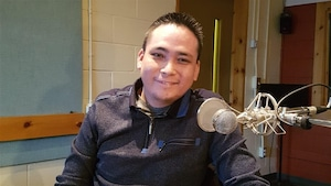 Jonathan Pinette-Grégoire, nouveau directeur du Centre d'amitié autochtone de Sept-Îles.