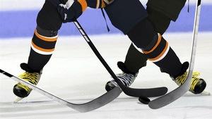 Des joueurs de hockey