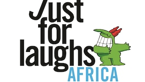 Le logo de Just for Laughs Africa