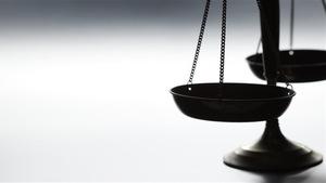 Une balance représentant la justice