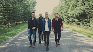La tournée de lancements de Kaïn se termine vendredi à Sherbrooke. Le groupe présente son nouvel album, Welcome bonheur.