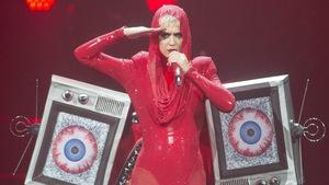 Katy Perry a lancé sa tournée mondiale « Witness », le 19 septembre 2017, au Centre Bell de Montréal.