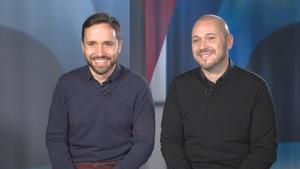 Laurent Brunetti et Mario Pacchioli