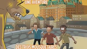 Le roman « Le chien d'or de Québec » s'adresse aux lecteurs de 9 à 12 ans.
