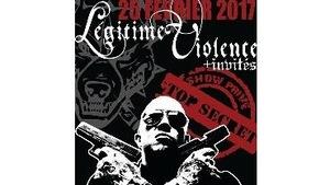 L'affiche du spectacle du groupe Légitime Violence qui devait avoir lieu dans un bar de Laurier-Station