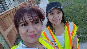 La fondatrice de la patrouille citoyenne 204 Neighbourhood Watch, Leila Castro.