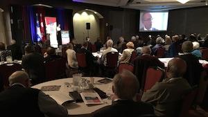 La rencontre s'est déroulée à Saguenay.