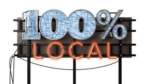 100 % local