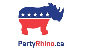 Le logo du Parti rhinocéros.
