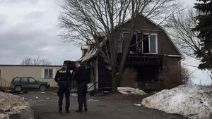La maison de jeunes incendiée près de Kawartha Lakes